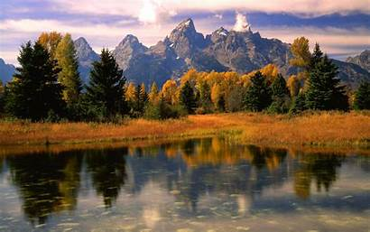 Fall Mountain Mountains Desktop Background