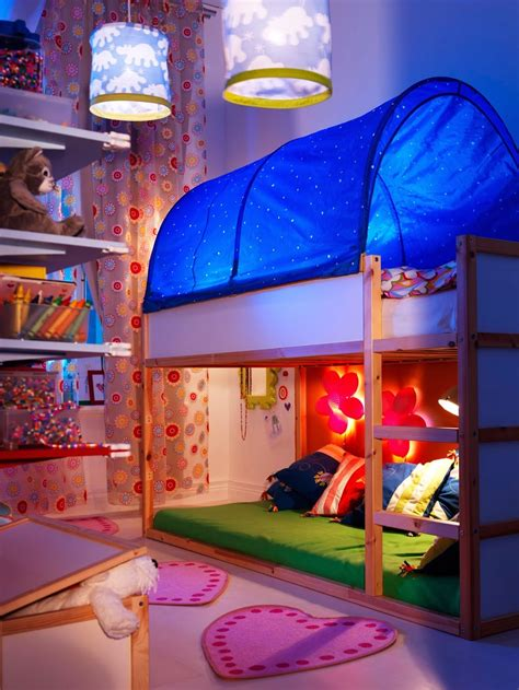 ikea kura reversible bed tent kids bedroom ideas