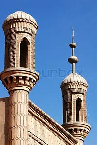 Landmark of a famous Islamic mosque in Sinkiang China ...