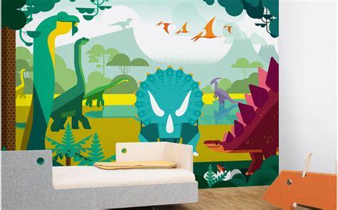 Tapisserie Dinosaure by Papier Peint Enfant Dinosaure D 233 Co Chambre Gar 231 On Sur Mesure