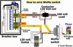2 Pole Circuit Breaker Wiring Diagram