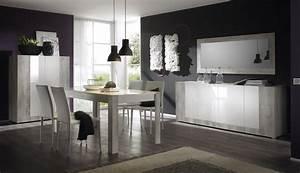 top 4 de nos salles a manger design le blog matelpro With salle À manger contemporaine avec cuisine laquée gris clair