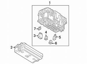 Chevrolet Equinox Fuse  Relay  Box  And  Block Assembly
