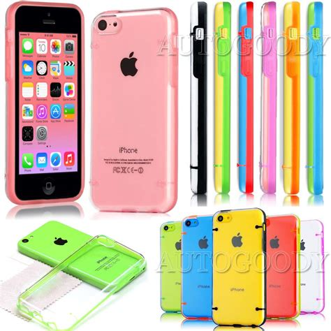 slim transparent crystal clear hard tpu cover case