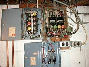 Diagram  Changing Electrical Panel From Fuses To Breakers