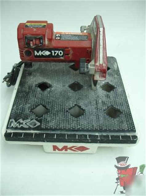 Mk170 Tile Saw Manual by Mk Mk 170 7 Inch Tabletop Tile Saw