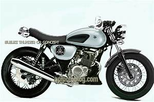 Modifikasi Suzuki Thunder 125 Cafe Racer Concept