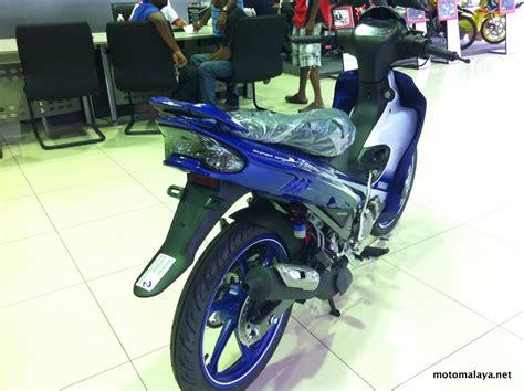y125zr gp edition biru motomalaya net berita dunia permotoran
