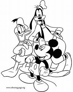 Mickey Mouse Mickey Mouse Donald Duck And Goofy