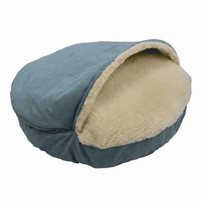 Dog Bed Cozy Cave Snoozer Luxury Aqua