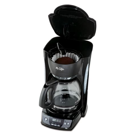 The carafe palate is made with nonstick material to keep your coffee warm even after 2 you will get a black and decker 12 cup programmable coffee maker manual to operate it effortlessly. Mr. Coffee® Simple Brew 12-Cup Programmable Coffee Maker Black, CGX23-RB on mrcoffee.com
