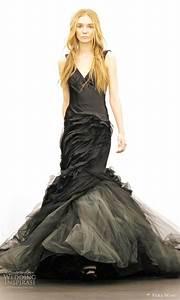 elegant collections of vera wang black wedding dresses With black wedding dresses meaning