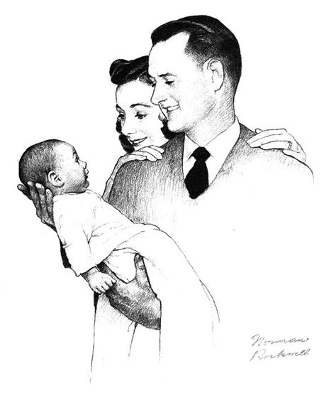 norman rockwell drawing  american dream