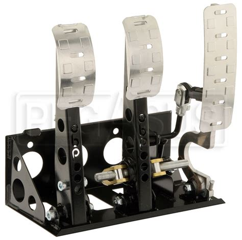 Hektar Floor L Assembly by Obp Pro Race Floor Mount 3 Pedal Assembly Without Mc