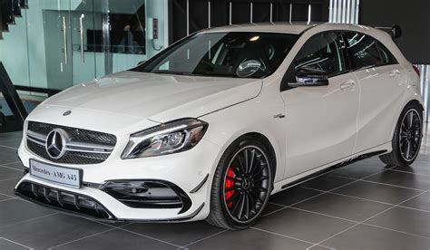 Mercedes Amg A45 Facelift In Msia 381 Hp Rm349k