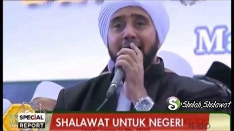 Full Sholawat Untuk Negeri  Habib Syech Di Masjid Attin