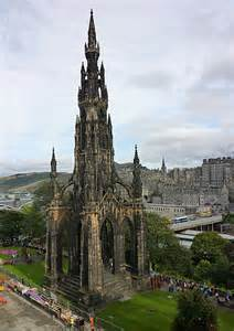 Scott's Monument Edinburgh