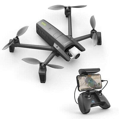 parrot anafi fpv foldable quadcopter drone   hdr camera video pf  ebay