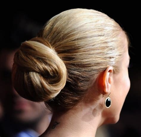 sleek knotted updo hairstyle   occasion hairstyles