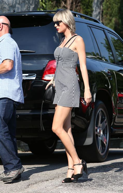 Taylor Swift Cute Outfit Out Nashville