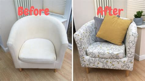 cover  ikea tub chair youtube
