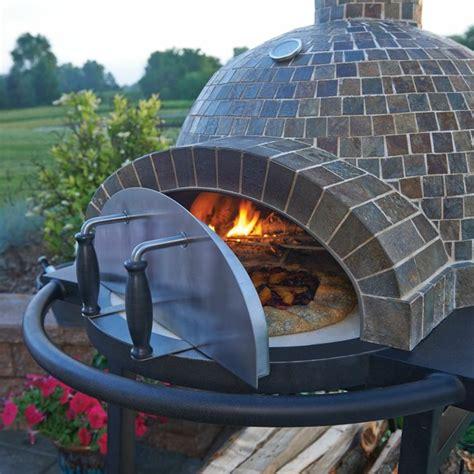 metall ofen selber bauen garten pizzaofen diy klinker tuer metall staender hausbau aussen pizzaofen pizza backofen