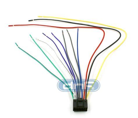 kenwood wiring harness  pin kdc  kdc  kdc