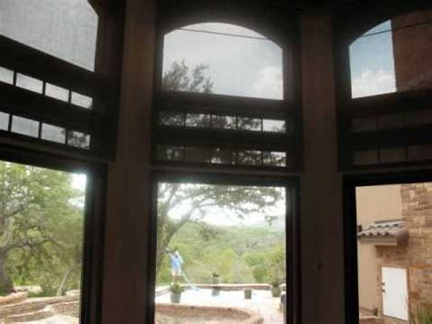 motorized shades  large windows austin tx youtube
