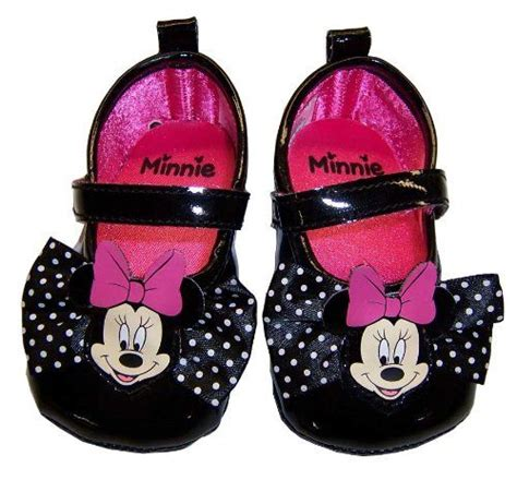 infant toddler black minnie mouse shoes 3 6 months disney http dp