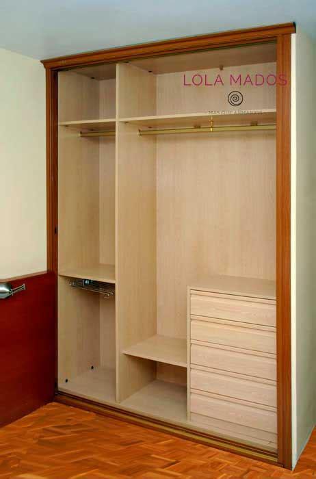 hacer interior de armarios empotrados  medida lola mados