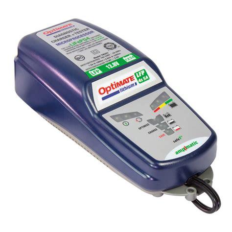 chargeur batterie lithium chargeur testeur batterie optimate lithium fx motors