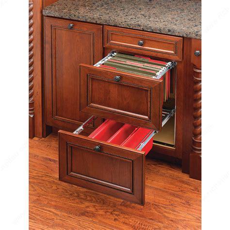 kitchen cabinet drawer accessories door mounted filing system richelieu hardware 5368