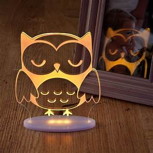 Girls, And, Boys, Remote, Controlled, Owl, Night, Light, By, Nika