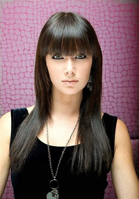 Hairstyles With Bangs by Wysepka Fashion And Styles Looking Classic Using