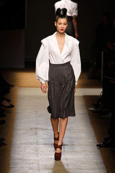yves saint laurent catwalk fashion show fw team peter