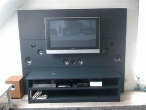 Meuble Tv Home Cinema Intégré : meuble tv home cin ma int gr ~ Melissatoandfro.com Idées de Décoration