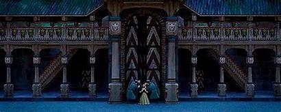 Frozen Elsa Disney Gates Open Guards Anna