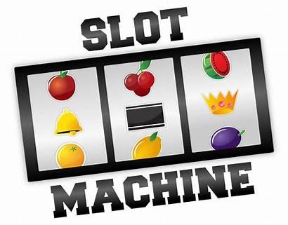Slot Machine Machines Clipart Vegas Slotmachine Casino
