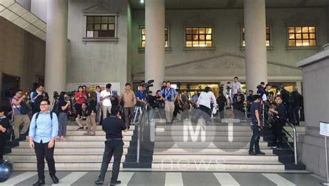 mahkamah kl jadi tumpuan najib bekas pm pertama hadapi dakwaan jenayah free malaysia today