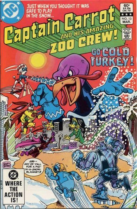 captain carrot  comic books