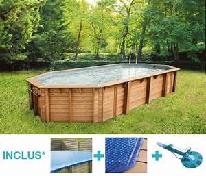 Liner Piscine Hors Sol Ovale : piscine hors sol bois bahia 8 60 x 4 70 m h 1 30 m ~ Dode.kayakingforconservation.com Idées de Décoration