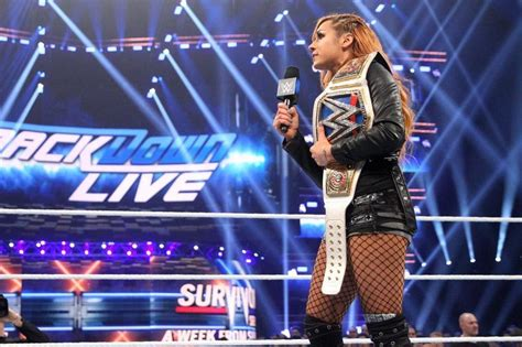 becky lynch attacks ronda rousey leads smackdown womens