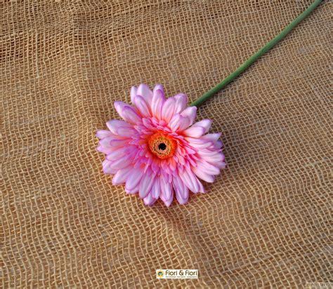 fiore la rosa fiore artificiale gerbera rosa per composizioni floreali