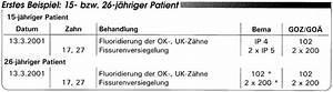 Bema Abrechnung : abrechnung nach bema und goz fluoridanwendung und ~ Themetempest.com Abrechnung