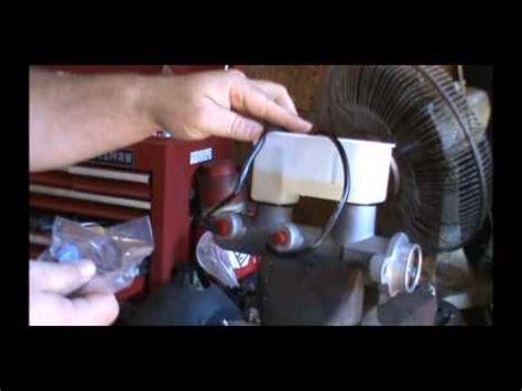silverado  brake master cylinder replacement