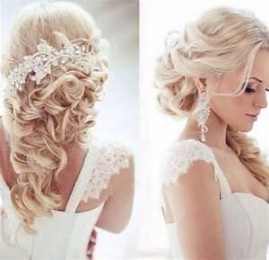 Wedding Hairstyles - Wedding Hair. Half Up Half Down ...