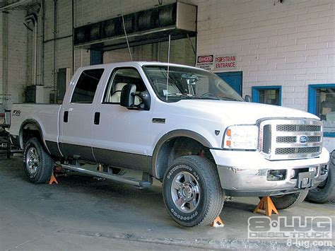 chaises teck chassis tech airbag kit on a 2005 ford f 350 tow with
