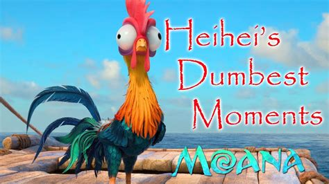 Moana Boat Quote by Heihei S Dumbest Funniest Moments Moana