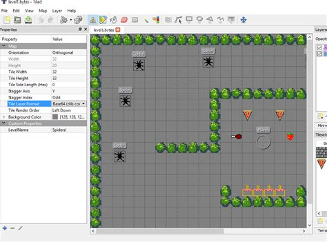 Tiled Map Editor Unity by The Tiled Map Editor And Unity3d Pixelbyte Studios