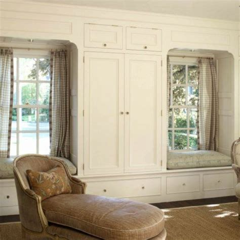 19 best images about Cabinet storage and window seat wall